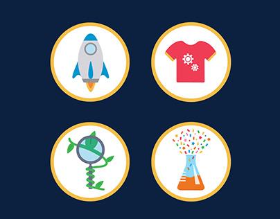 DiscoverE Icon Set