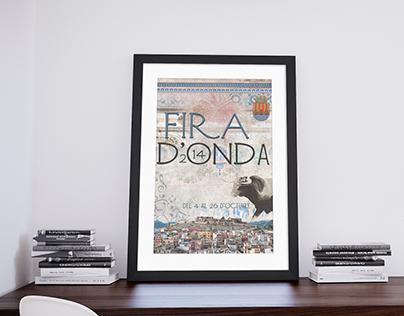 Cartel Oficial de la Fira D'Onda 2014