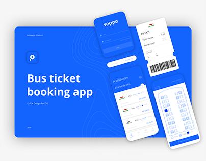 Veppo /// Bus ticket booking app