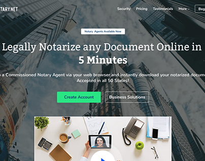 Online Notary