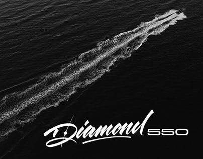 Projekt wzorniczy łodzi Diamond 550