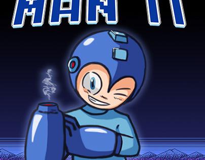 Mega Man II Cover ( Fan-Art )