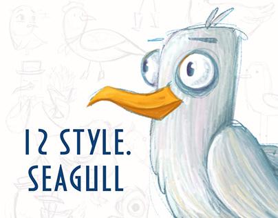 12 styles. Seagulls l 12 стилей. Чайки