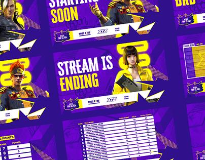 Mega Fan Clash - Tournament Graphics