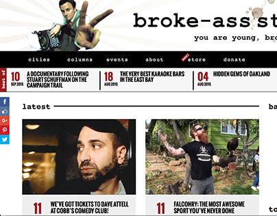 BrokeAssStuart.com Redesign