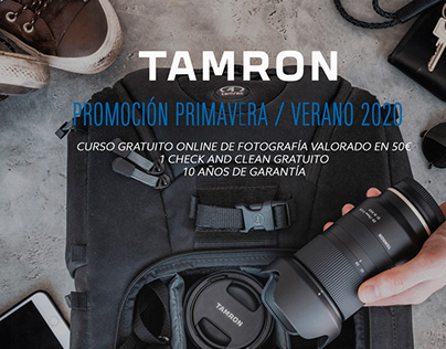 CAMPAÑA DE VERANO TAMRON