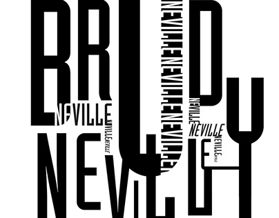 Neville Brody Type Book