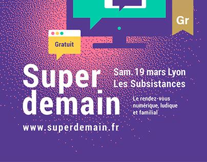 Super demain - Poster Design