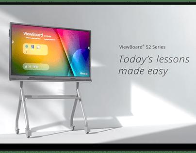 ViewSonic 52 Series Interactive Whiteboard.