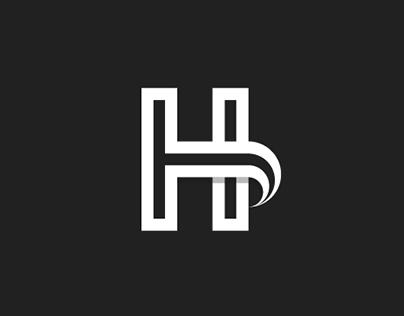 H -Letterform Logo