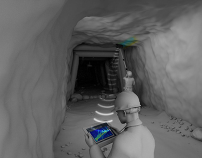 Ground Penetrating Radar CGI 3D Animation Video