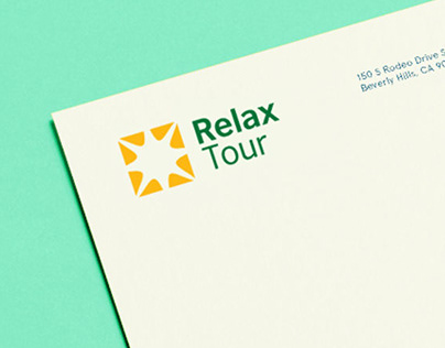 Relax Tour - corporate identity for travel company