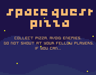 Space quest Pizza - A unique and fun party game!