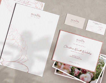 Peony M | Flower Boutique Branding