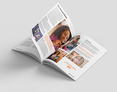 New Hope For Kids Annual Report - Layout Design