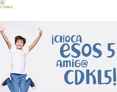 Diseño Web para Asociación Afectados por CDKL5 España