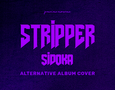 Sidoka - Stripper | Alternative Album Cover