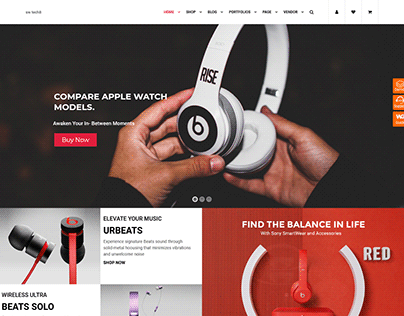 Tech8 - Digital Store WooCommerce WordPress Theme