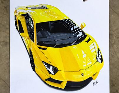 Lamborghini Çizimi