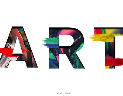 Abstract Art typo