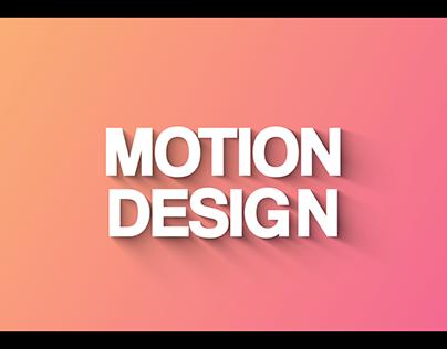 WORDS SENS - MOTION DESIGN 2018