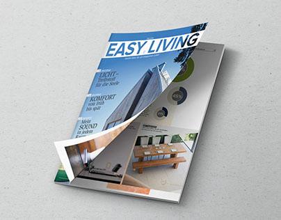 Grafisches Konzept für ein SmartHome-Magazin