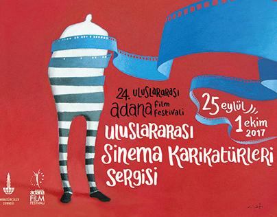 Adana Film Festival - Caricature Exhibition