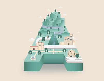 Mapas Ciudades Patrimonio de la Humanidad