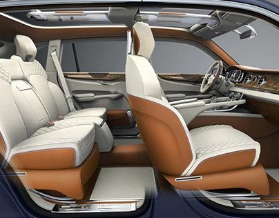 Bentley EXP9f Concept SUV