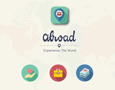 abroad: Interface Design