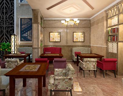 """Ресторан в гостинице """"Ритц"""" г. Евпатория"""