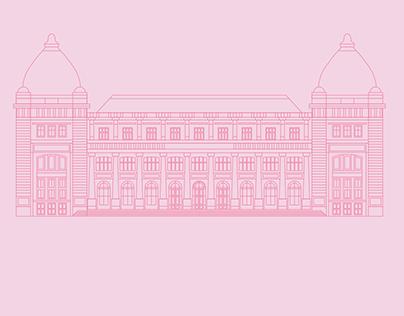 Bucharest's museums. Illustration