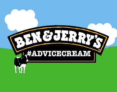 Ben & Jerry's #AdviceCream