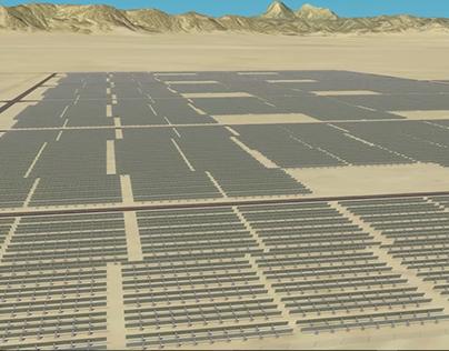 3D Solar Farm