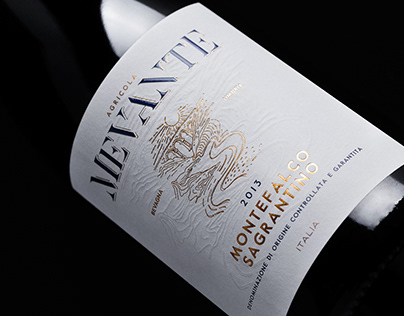 Agricola Mevante - Wine Label