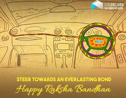 Volercars Creative for Rakshabandhan