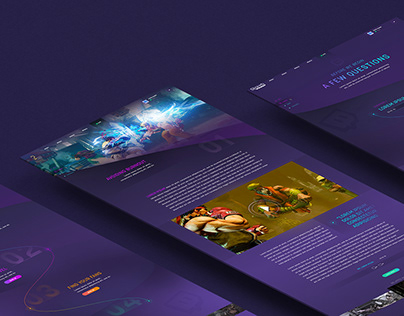 TWITCH - Website Concept
