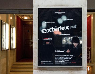 DESIGN GRAPHIK/ film Extérieur nuit