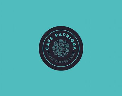 Cafe Papriqua Branding