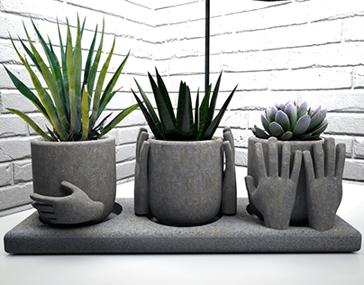 3 WISE PLANTERS
