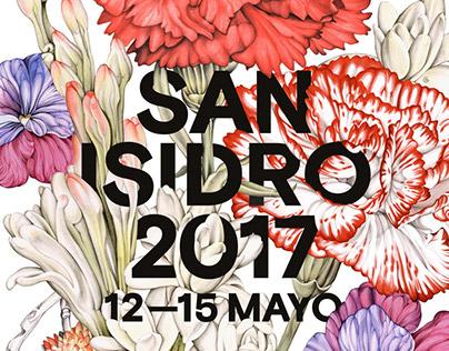 Cartel oficial SAN ISIDRO 2017