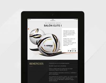 SoccerPro México | web