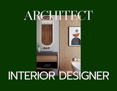 Architect & Interior Designer - Website Design