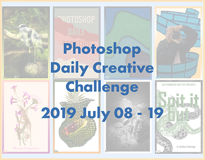 Photoshop Daily Creative Challenge July 08-19