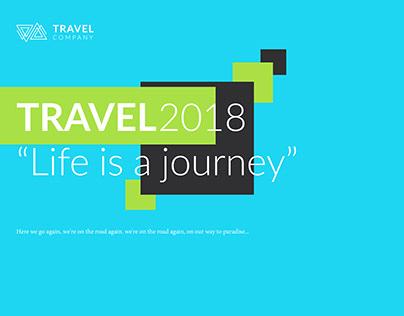 Travelling brochure