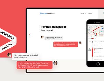 Smart Schedules — Revolution in public transport