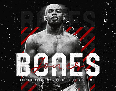Jon BONES Jones - POSTER