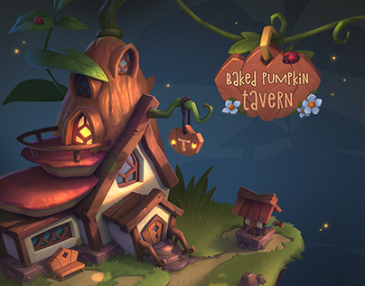 """""""Baked Pumpkin"""" Tavern."""