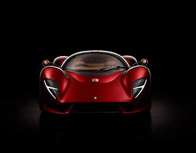 DeTomaso P72 Launch Photography