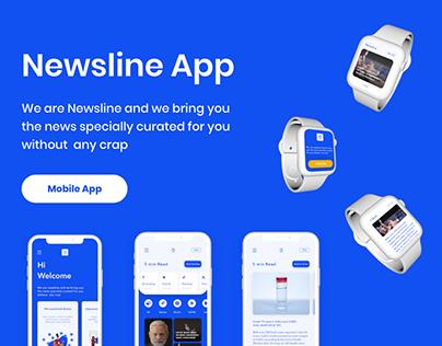 UX/UI of news app